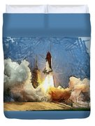 Last Launch Duvet Cover