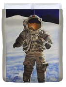 Last Man - Apollo 17 Duvet Cover