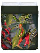 Last Of The Peppers Duvet Cover