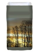 Last Rays Of Light Duvet Cover