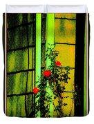 Last Roses Of The Season Duvet Cover