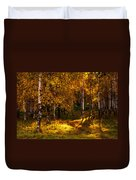 Last Song Of The Autumn 1 Duvet Cover