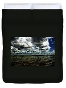 Last Winds Of Hurrican Issac  Duvet Cover