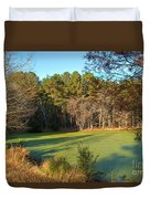Late Afternoon Long Shadows Duvet Cover