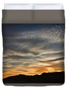 Late Afternoon Sky Duvet Cover