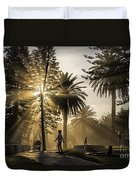 Late Afternoon Sunbeams Duvet Cover