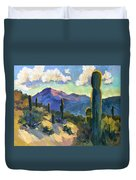 Late Afternoon Tucson Duvet Cover