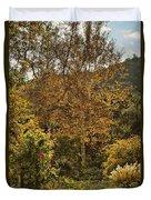 Late Autumn Walk Duvet Cover
