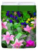Late Bloomer Duvet Cover