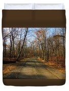 Late Fall At Cheesequake State Park Duvet Cover