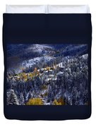Late Fall In Vail Duvet Cover