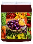 Late Summer Harvest Duvet Cover