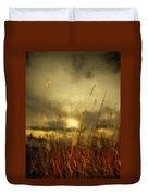Late Summer Sun Through The High Grass Duvet Cover