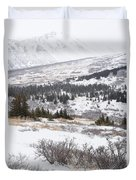 Late Winter Storm Duvet Cover