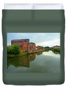 Latimer And Crick Building In Northampton Duvet Cover