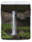 Latourelle Falls Duvet Cover
