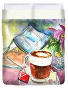 Latte Macchiato In Italy 01 Duvet Cover