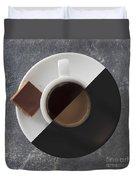 Latte Or Espresso Duvet Cover