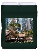 Lau Pa Sat Market 01 Duvet Cover
