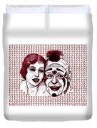 Laugh Clown Laugh Duvet Cover