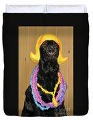 Laughter Yoga For Dogs Duvet Cover