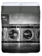 Laundromat Art Duvet Cover