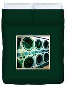Laundromat Duvet Cover