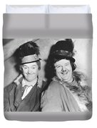 Laurel And Hardy Duvet Cover