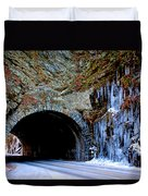 Laurel Creek Road Tunnel Duvet Cover