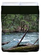 Laurel Hill Creek Hemlock Overlook Duvet Cover