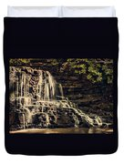 Laurel Run Falls Duvet Cover