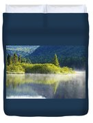 Laurentian Summer Morning Duvet Cover