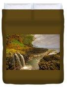 Lava Inlet Duvet Cover