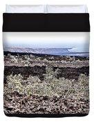 Lava Landscaped Duvet Cover
