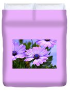 Lavender Beauties Duvet Cover