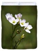 Lavender Blush Cuckoo Flower Duvet Cover