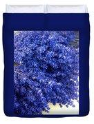 Lavender Bunch Flowers Duvet Cover