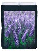 Lavender Garden II Duvet Cover