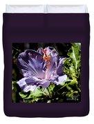 Lavender Hibiscus Duvet Cover