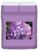 Lavender Hydrangea Duvet Cover