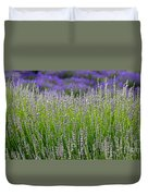 Lavender Layers Duvet Cover