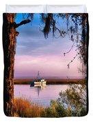 Lavender Light Reflections Duvet Cover