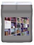 Lavender Museum Shop Duvet Cover