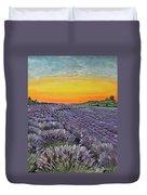 Lavender Oasis Duvet Cover