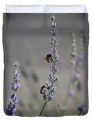 Lavender Rest Stop Duvet Cover