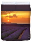 Lavender Sunset Duvet Cover