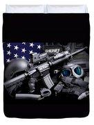 Law Enforcement Tactical Sheriff Duvet Cover
