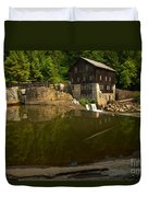 Lawrence County Grist Mill Duvet Cover