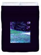 Lawn Blue Duvet Cover
