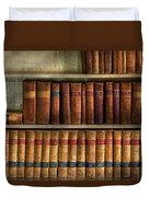 Lawyer - Books - Law Books  Duvet Cover